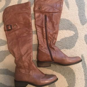 Steve Madden over the knee boots sz 7